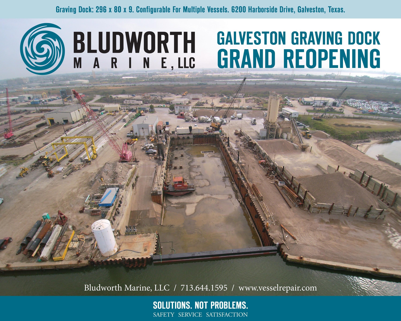 grand reopening of the galveston graving dock bludworth marine l l c